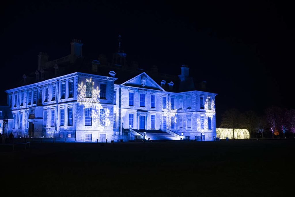 'Belton House in Lincolnshire, UK'